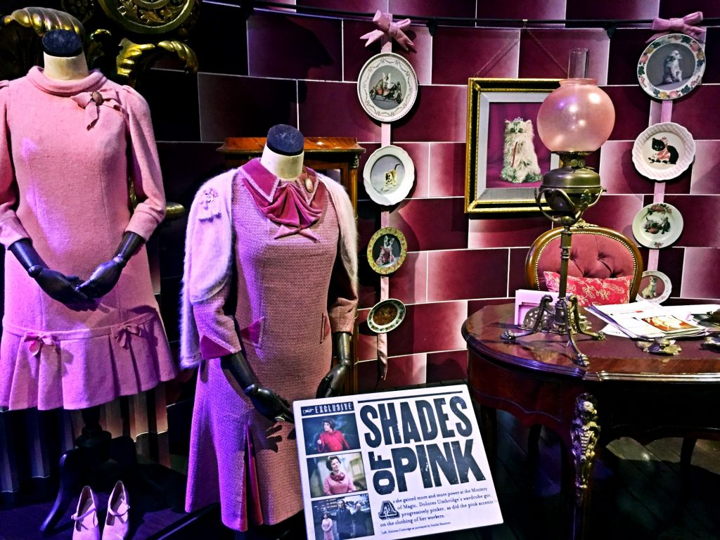 visitare gli Harry Potter Warner Bros Studios-dolores-umbridge