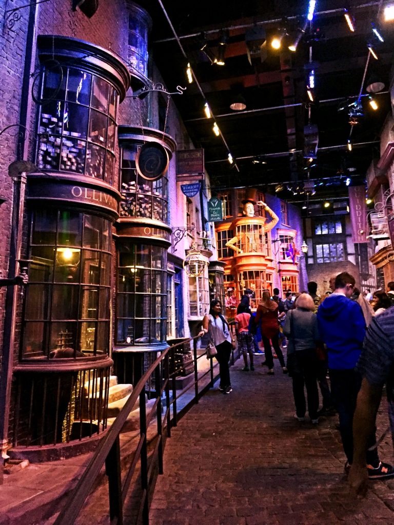 visitare gli harry Potter Warner Bros Studios-diagon-alley