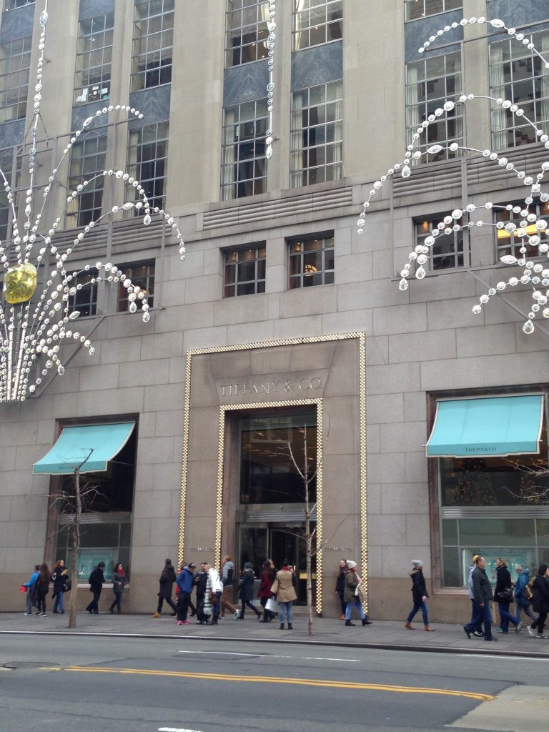 luoghi cult dello shopping a New York-tiffany