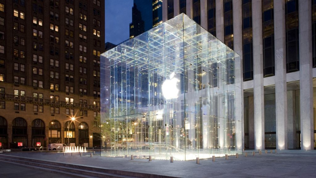 luoghi cult dello shopping a New York-apple-store