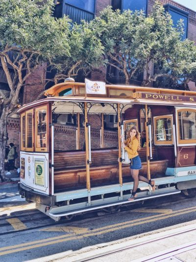itinerario di 3 giorni a San Francisco-cable-car