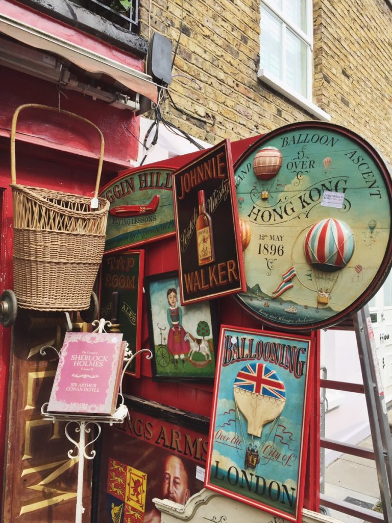 negozio di antiquariato Alice's in Portobello Road