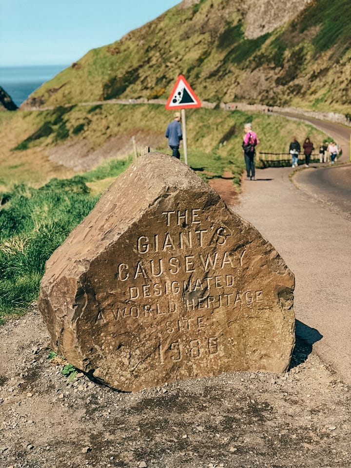 escursione a Giant's Causeway-ingresso-giant's