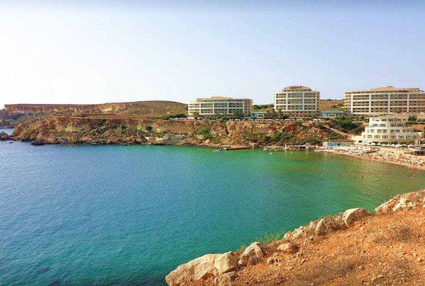 Spiaggia-sabbia-vacanza a Malta