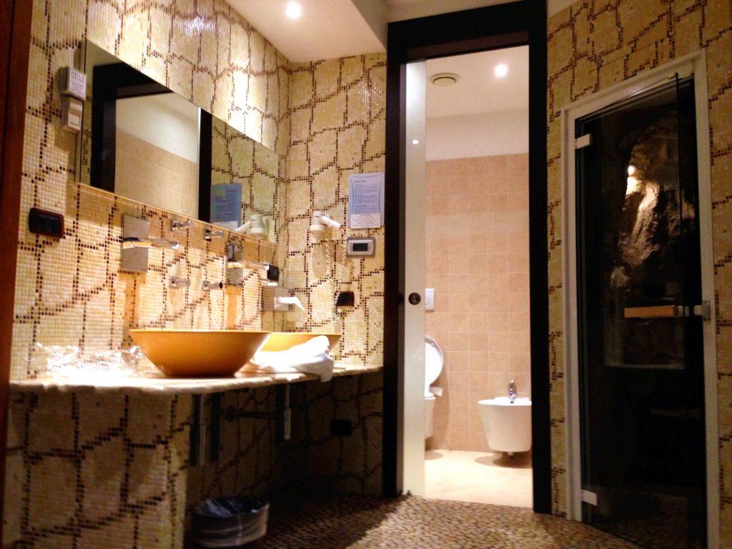 Motel K-bagno turco-doccia