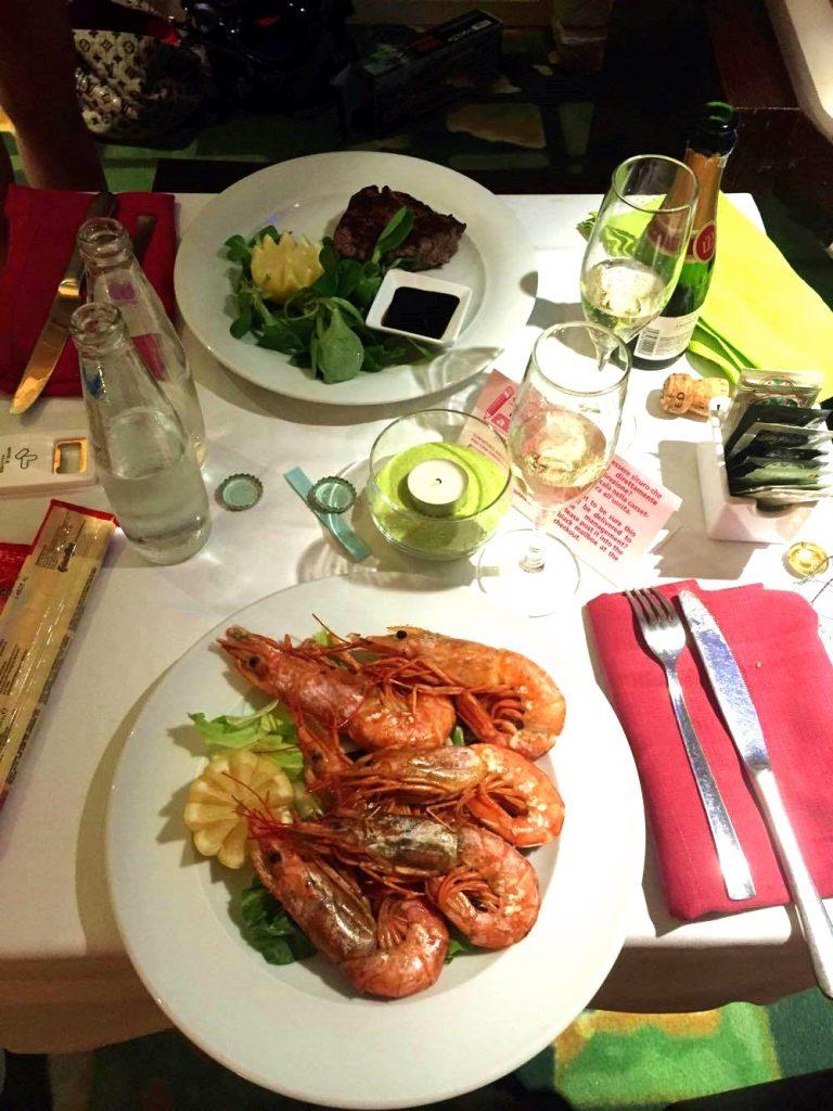 motel k-dettaglio-cena-gamberi-filetto