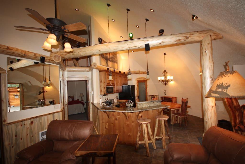 interno-casa per hobbit-montana