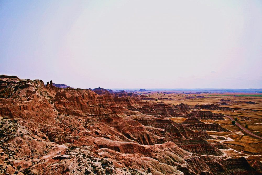 viaggio in nord america-panorama-badlands