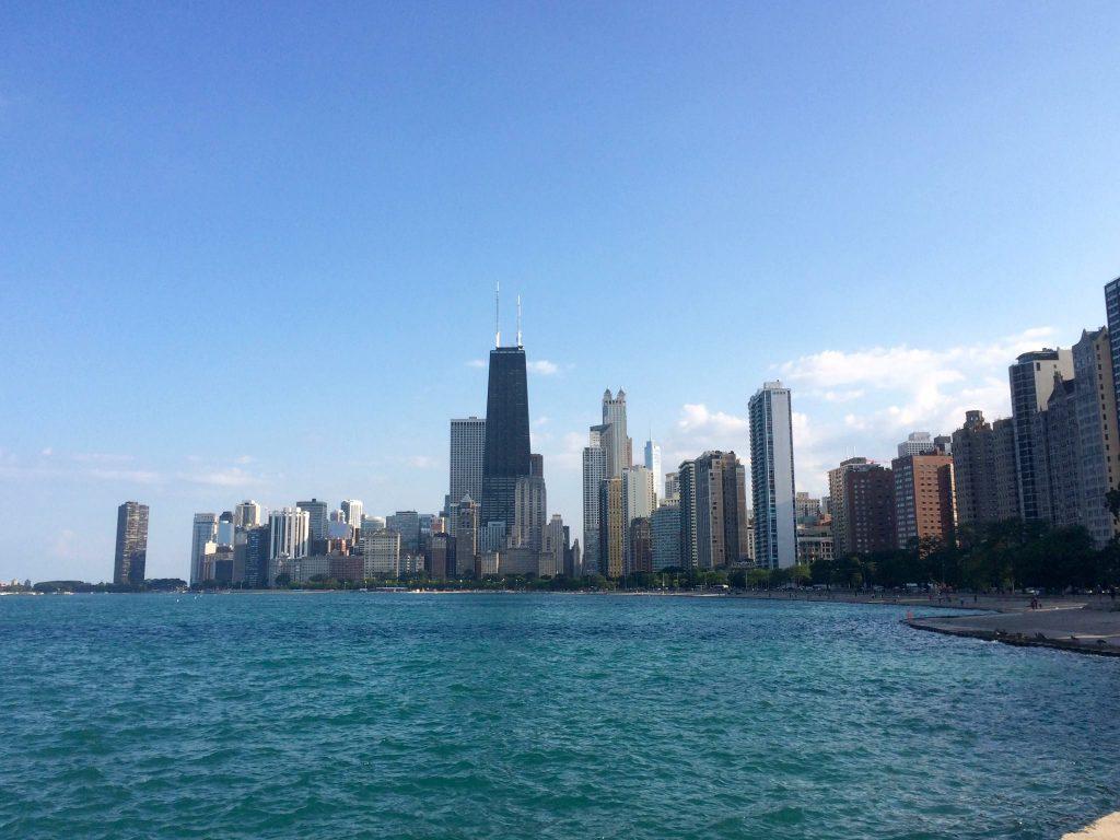 viaggio in norda america-chicago-lungo-fiume