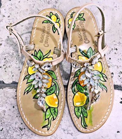 moda a capri-sandali