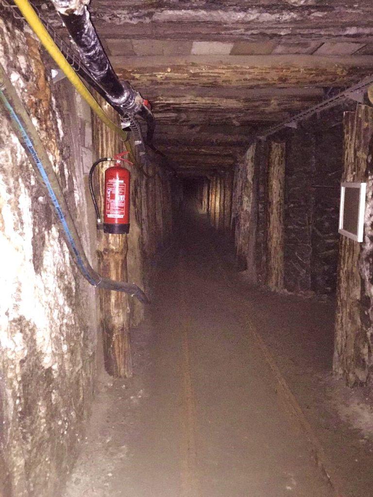 percorso minerario a cracovia-cunicolo
