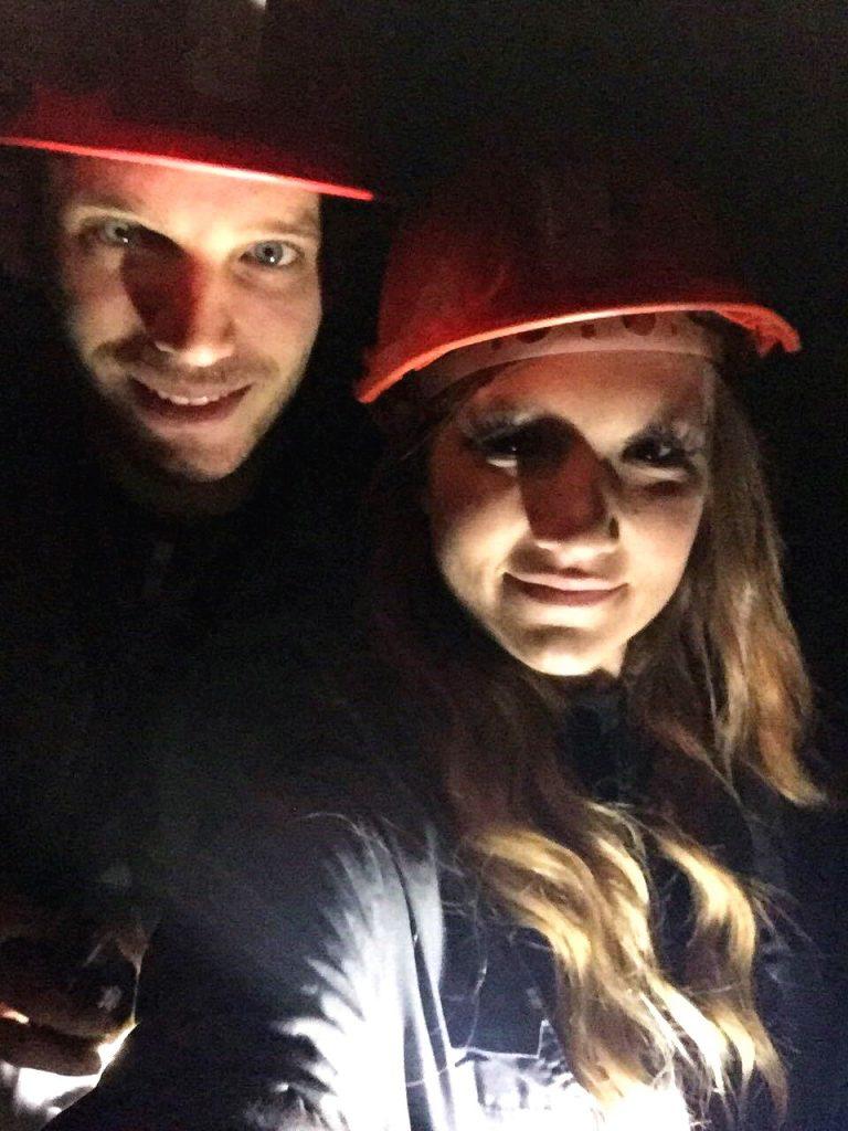 percorso minerario a cracovia-selfie-sotterraneo