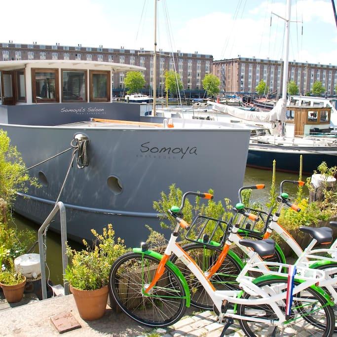 bed & boat-the-somoya