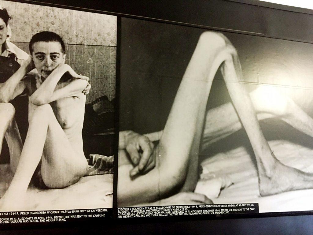 visita ai campi di concentramento di Auschwitz e Birkenau-foto-detenuti-deperiti