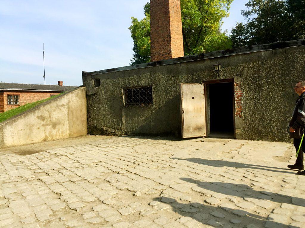 visita ai campi di concentramento di Auschwitz e Birkenau-camere-a-gas