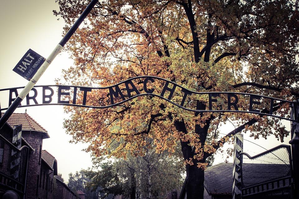 visita ai campi di concentramento di Auschwitz e Birkenau-entrata-auschwitz
