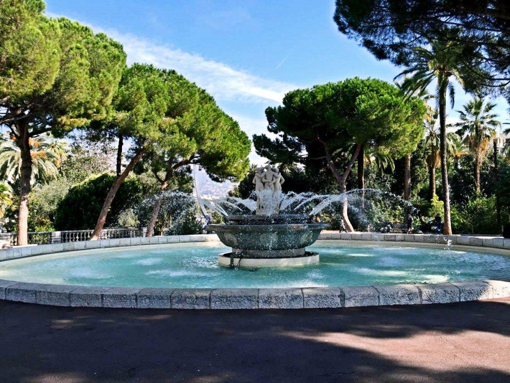 nizza in un giorno-jardin-albert-fontana