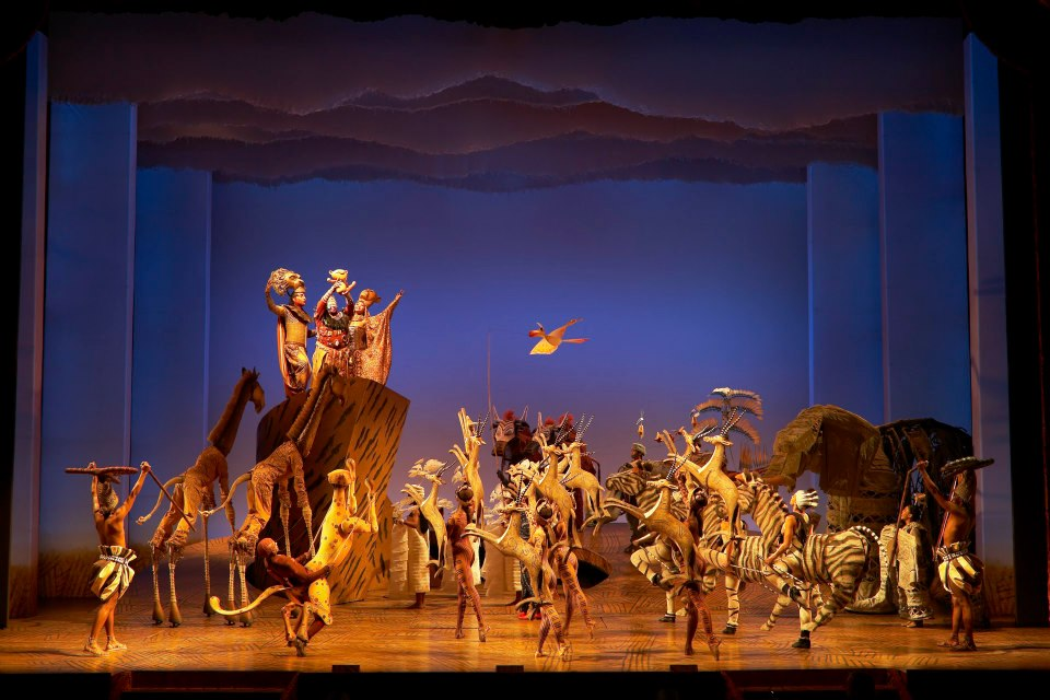 musical il re leone a londra-teatro
