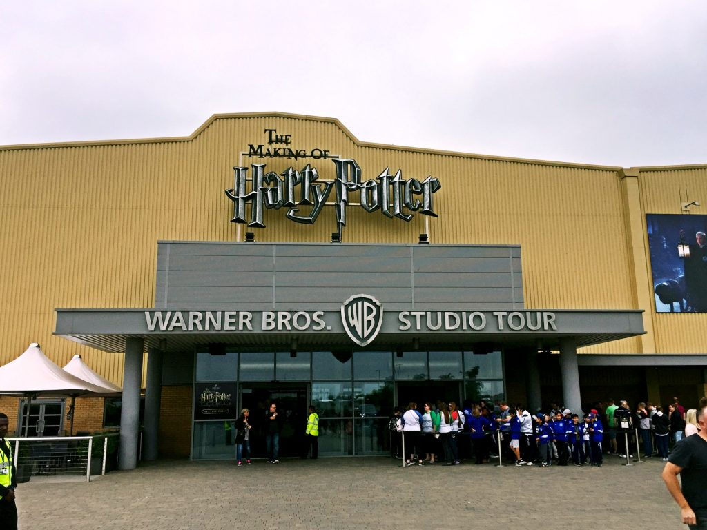 visitare gli Harry Potter Warner Bros Studios-entrata