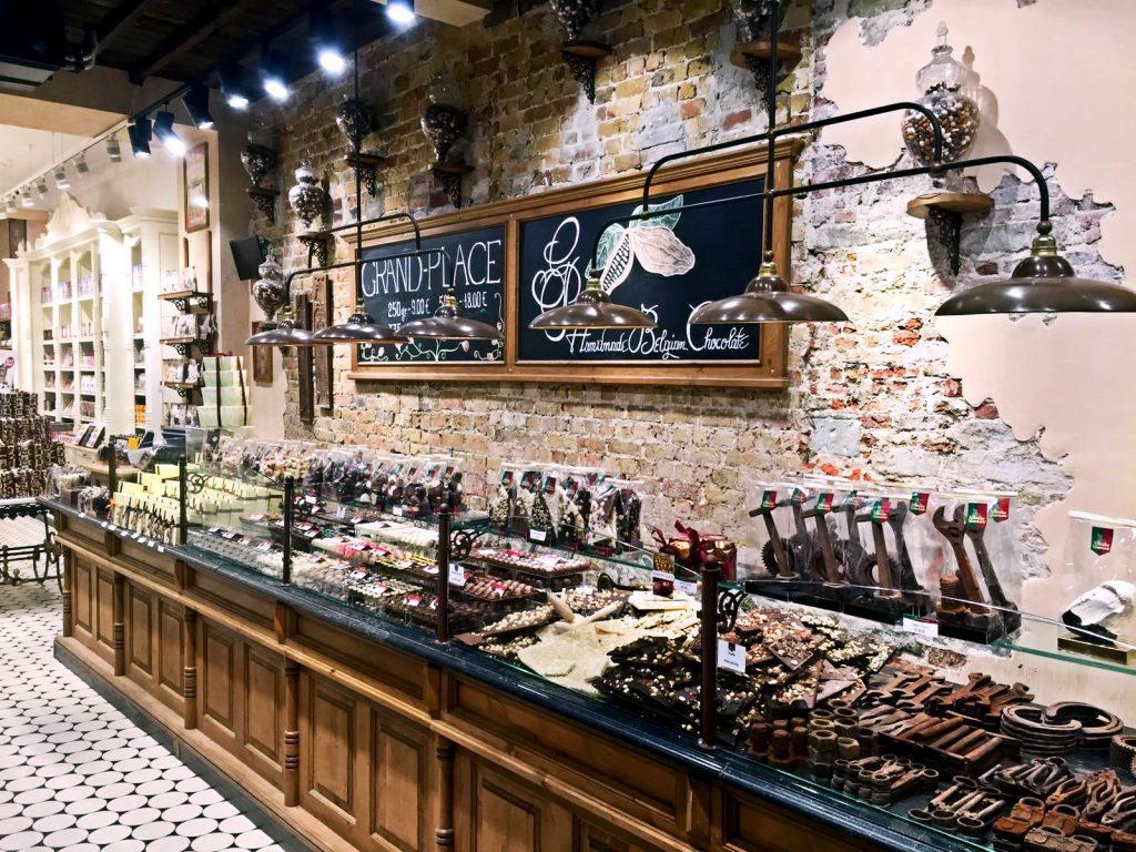 cosa vedere a Bruxelles in tre giorni-cioccolateria