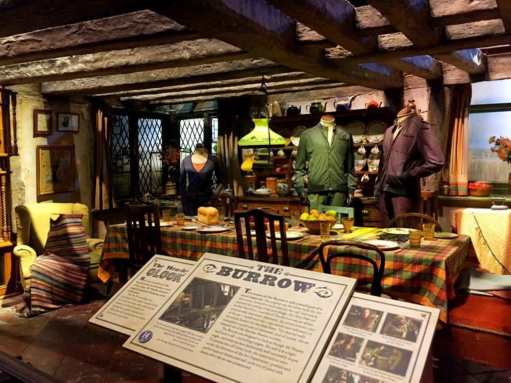 visitare gli Harry Potter Warner Bros Studios-casa-weasley