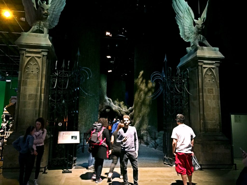 visitare gli Harry Potter Warner Bros Studios-foresta-proibita