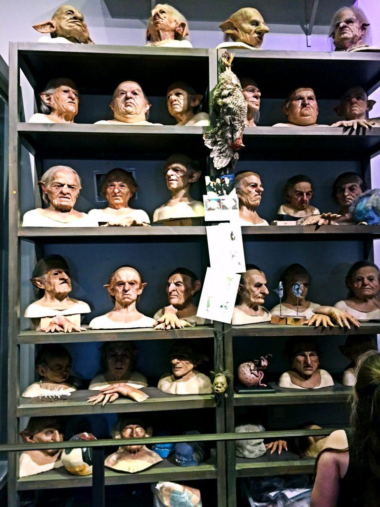 visitare gli Harry Potter Warner Bros Studios-maschere