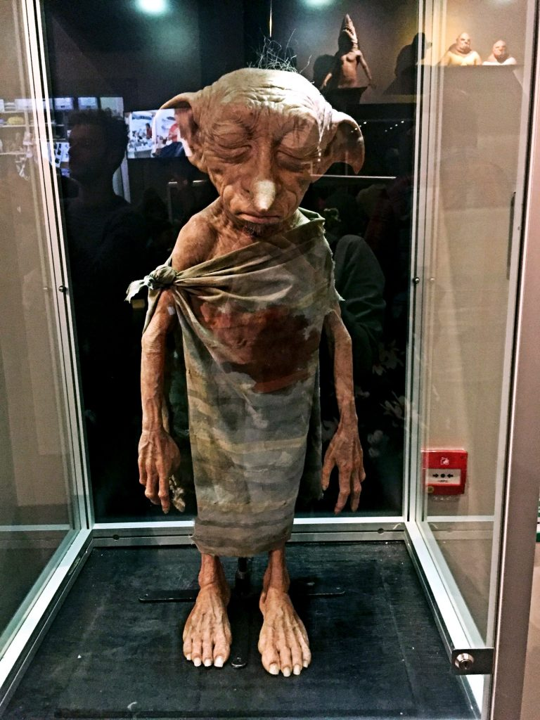 visitare gli Harry Potter Warner Bros Studios-dobby