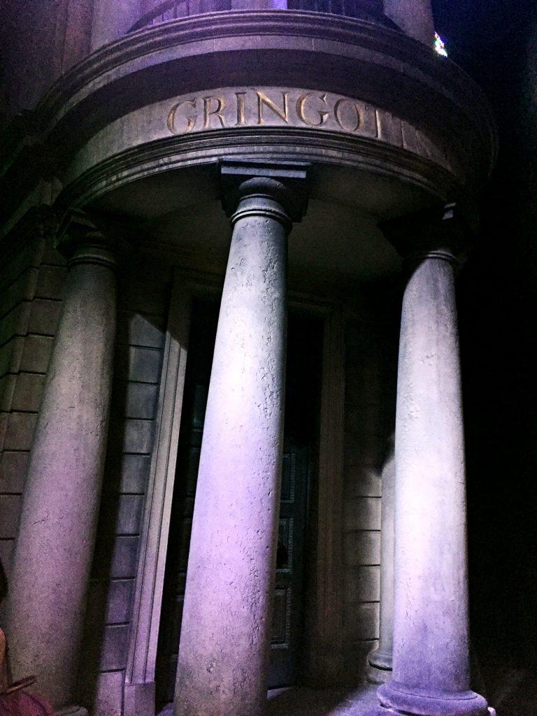 visitare gli harry Potter Warner Bros Studios-gringott