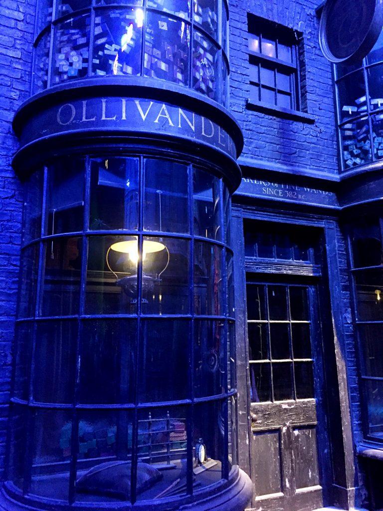 visitare gli harry Potter Warner Bros Studios-ollivander