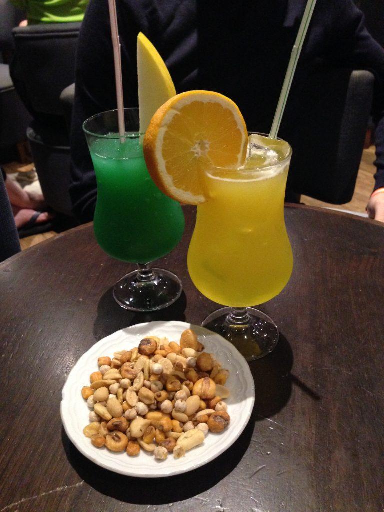 soggiorno cinque stelle al resort Gran Castillo a Lanzarote-aperitivi