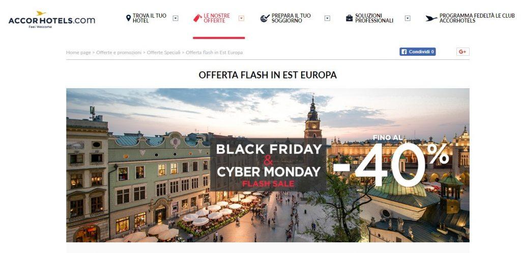 sconti sui viaggi durante il Black Friday 2017-accor-hotels