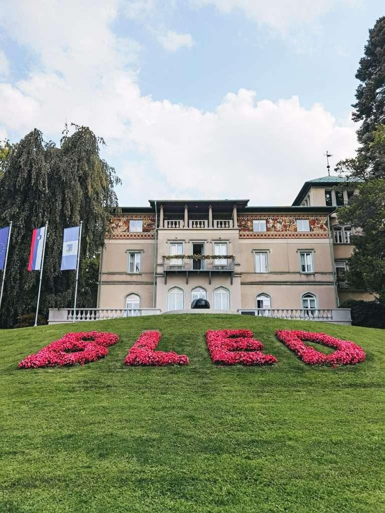 due giorni sul lago di Bled-insegna-bled