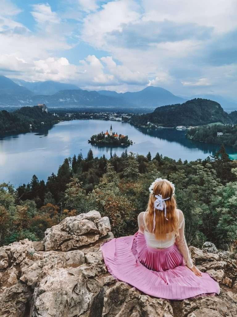due giorni sul lago di Bled-ojstrica