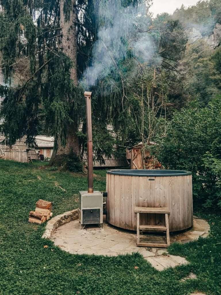 due giorni sul lago di Bled-tinozza-bled