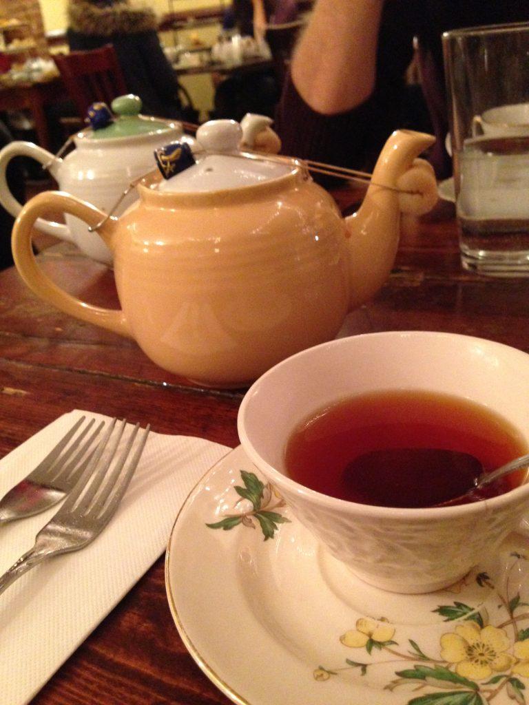 sala da tè Alice's Tea Cup a New York-tè