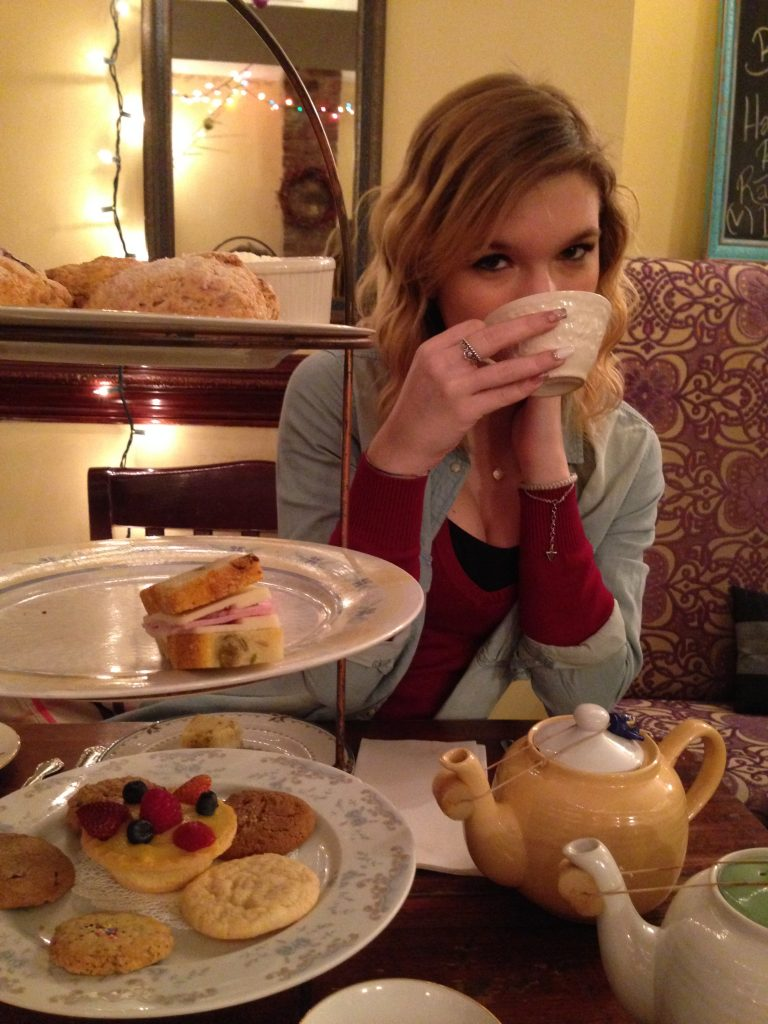 sala da tè Alice's Tea Cup a New York-merenda