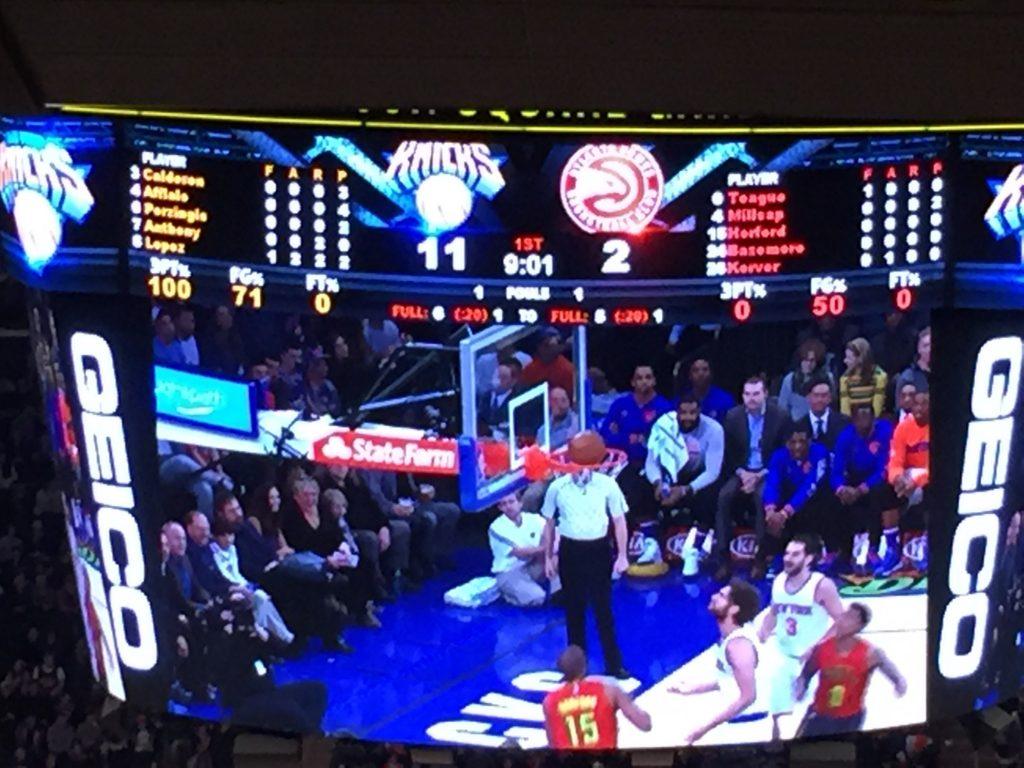 vedere una partita NBA al madison square garden-dettaglio-canestro
