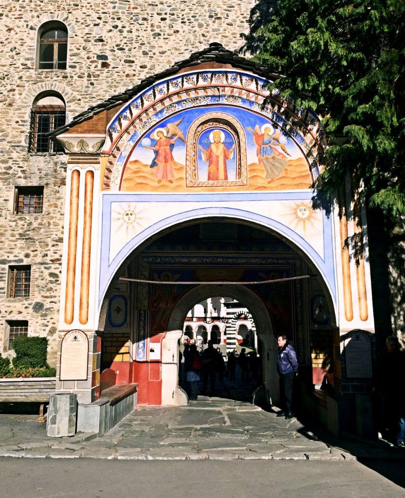 monastero di rila-entrata-monastero