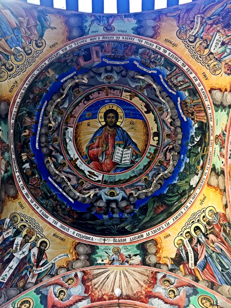 monastero di rila-affreschi-monsatero