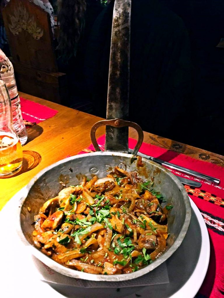 weekend a sofia-pollo-ristorante