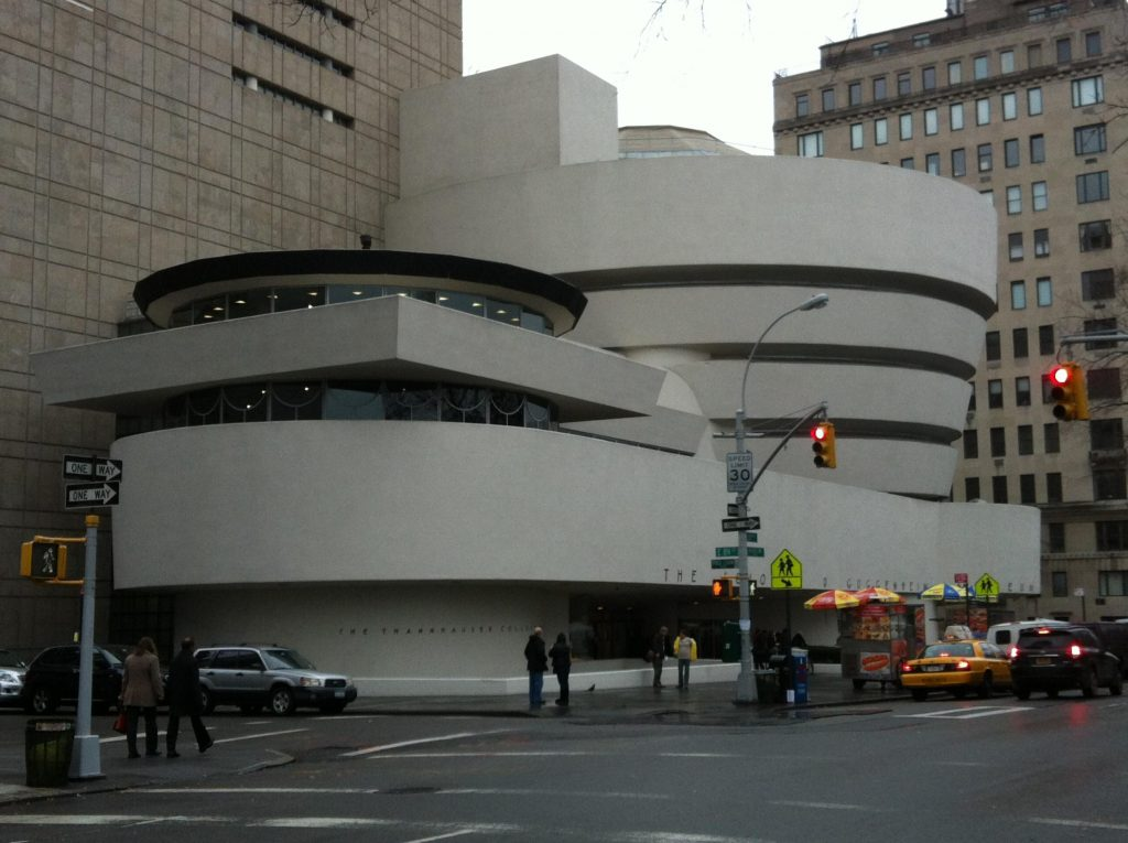 musei gratis a new york-guggenehim-esterno
