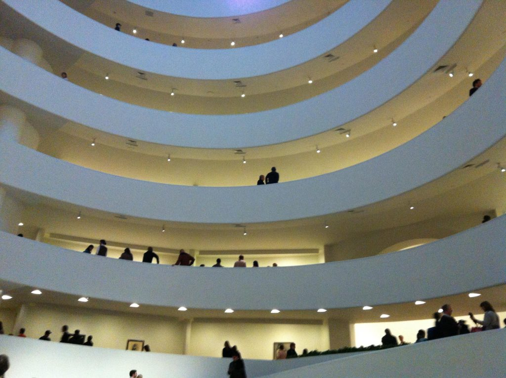 musei gratis a new york-guggenheim-interno