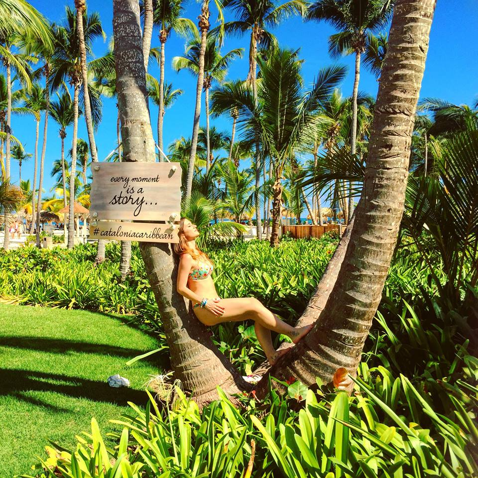 Catalonia Bavaro Resort a Punta Cana-palme