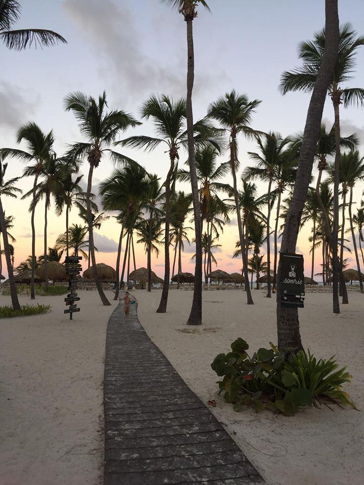 Catalonia Bavaro Resort a Punta Cana-tramonto