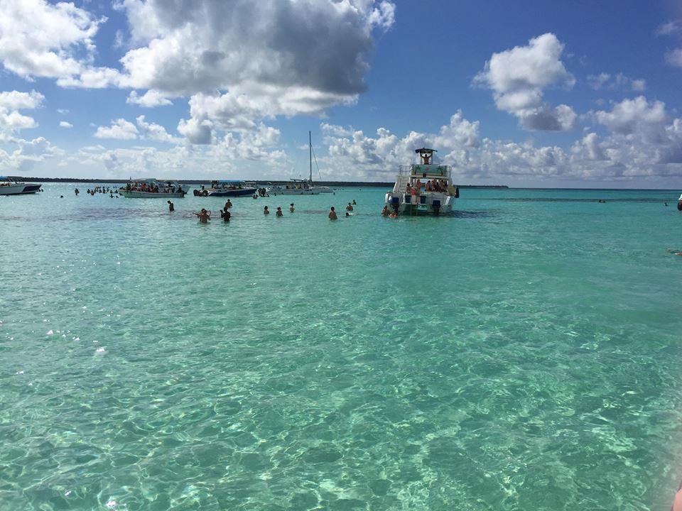 escursione a Isla Saona-piscine-naturali