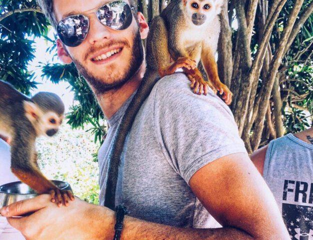 monkeyland a punta cana-io.con-scimmiette