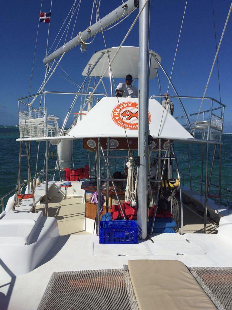 snorkeling a punta cana-catamarano