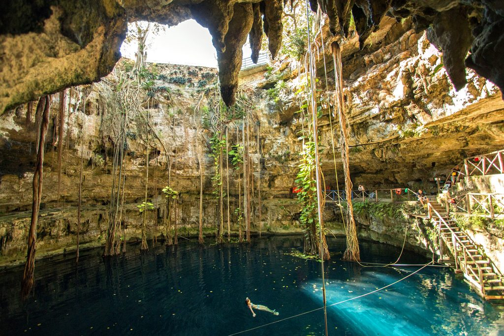 100 luoghi da vedere prima di morire-cenote-yucatan