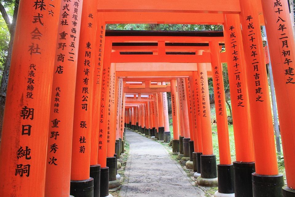 100 luoghi da vedere prima di morire-fushimi